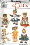 Simplicity 9434 Baby Doll Pattern UNCUT