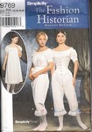 Simplicity 9769 Authentic Civil War Undergraments Pattern NEW
