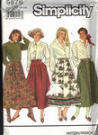 Simplicity 9876 U5 Full Skirt Pattern UNCUT