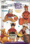 Simplicity 9907 Winnie The Pooh Halloween Costume Pattern UNCUT