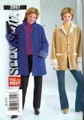 See Sew 3997 Size C Coat Jacket Sewing Pattern