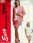 McCalls stitch 'n save 6359 Size A Suit Pattern UNCUT