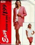 McCalls stitch 'n save 6359 Easy Suit Pattern UNCUT