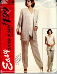 McCalls 6972 stitch 'n save Sz A Pantsuit Pattern UNCUT