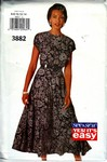 Butterick See & Sew 3882 Dress Pattern UNCUT