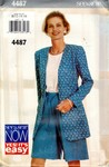 Butterick See & Sew 4487 Size B Shorts Top Pattern UNCUT
