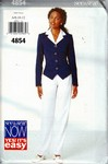 Butterick See & Sew 4854 Size A Top Pants Pattern UNCUT