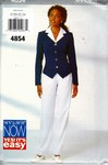 Butterick See & Sew 4854 Large Top Pants Pattern UNCUT