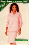 Butterick See & Sew 5983 Stretch Knit Separates UNCUT