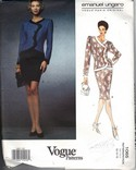 Vogue 1065 Emanuel Ungaro Suit Sewing Pattern UNCUT