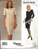 Vogue 1154 Albert Nippon Medium Dress Pattern UNCUT