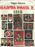 Vogue 1312 Santa Pack I UNCUT