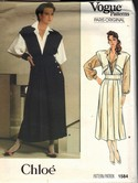 Vogue 1584 Chloe Jumper Blouse Pattern Size 12 UNCUT