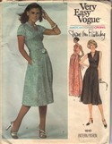 Vogue 1610 Diane Von Furstenberg Wrap Dress Pattern UNCUT