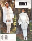Vogue 1657 DKNY Coat Pattern UNCUT