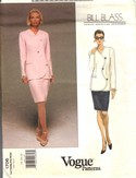 Vogue 1706 Bill Blass Suit Pattern