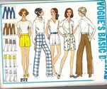 Vogue 2172 Basic Design Pants Shorts UNCUT