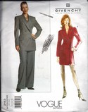 Vogue 2183 Givenchy Dress Pantsuit 12-14-16 Pattern UNCUT