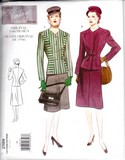 Vogue 2199 Skirt Suit Reprint Pattern Uncut