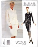 Vogue 2274 Bill Blass Skirt Suit Pattern Uncut