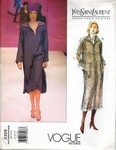 Vogue 2329 Yves Saint Laurent Dress Pattern UNCUT