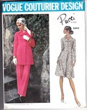 Vogue 2243 Pucci Dress Suit Pattern Uncut