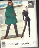 Vogue 2562 Jennifer George Coat Pattern LARGE Uncut