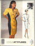 Vogue 2623 Tom Linda Platt Dress Pattern 12-14-16 Uncut