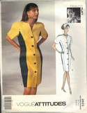 Vogue 2623 Tom Linda Platt Dress Pattern 18-20-22 Uncut