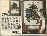 Vogue 2794 Advent Calendar Pattern