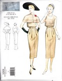 Vogue 309 Reprint Dress Capelet Sewing Pattern Uncut