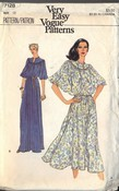 Vogue 7128 Loose Fitting Dress Pattern UNCUT
