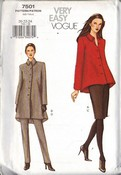 Vogue 7501 XL Separates Sewing Pattern UNCUT