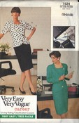 Vogue 7524 Suit Pattern Plus Size UNCUT