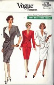 Vogue 7720 Chic Suit Pattern 14-16-18 UNCUT