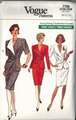 Vogue 7720 Chic Suit Pattern 8-10-12 UNCUT