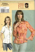 Vogue 7903 Sandra Betzina Shirt Pattern UNCUT