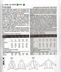 Vogue 8088 Marcy Tilton Jacket Pattern XL UNCUT
