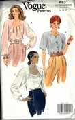Vogue 8231 Evening Look Blouse Pattern