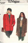 Vogue 9536 Jacket Pattern UNCUT