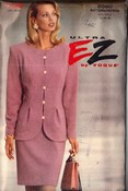 Vogue 8560 Ultra EZ Suit Pattern 12-14-16 UNCUT