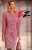 Vogue 8560 Ultra EZ Suit Pattern 18-20-22 UNCUT