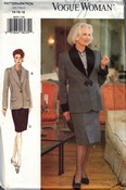 Vogue Woman 8859 Career Skirt Suit Pattern