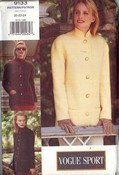 Vogue 9133 Jacket 20-22-24 Pattern Uncut