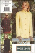 Vogue 9133 Jacket 8-12-12 Pattern Uncut