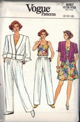 Vogue 9267 Separates Sewing Pattern Uncut