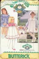 Butterick 3086 Cabbage Patch Girls Dress UNCUT
