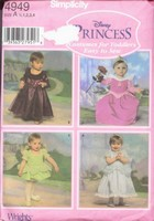 Simplicity 4949 Disney Princess Pattern UNCUT