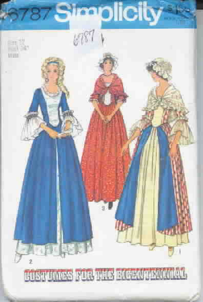 Simplicity 6787 19th Century Costume Pattern