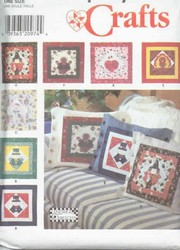 Simplicity Sewing Pattern 7879 Holiday Pillows Cushions